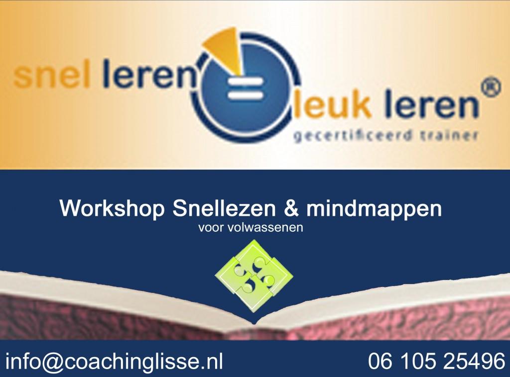 Logo vierkant workshop snellezen en mindmappen